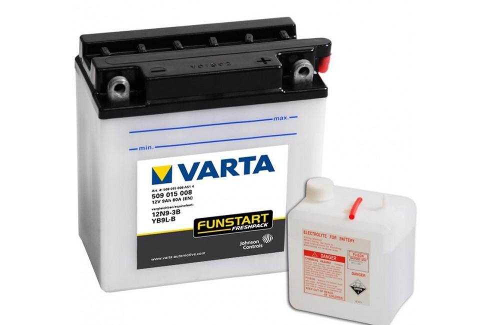 Аккумулятор VARTA YB9L-B (509015)