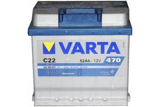 Аккумулятор Varta Blue Dyn 552400 (52 Ah) 470A