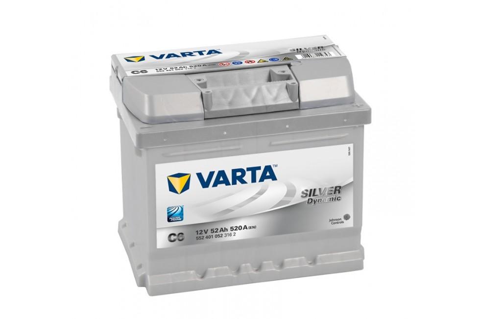 Аккумулятор Varta Silver Dyn 552401 (52 Ah) 520A