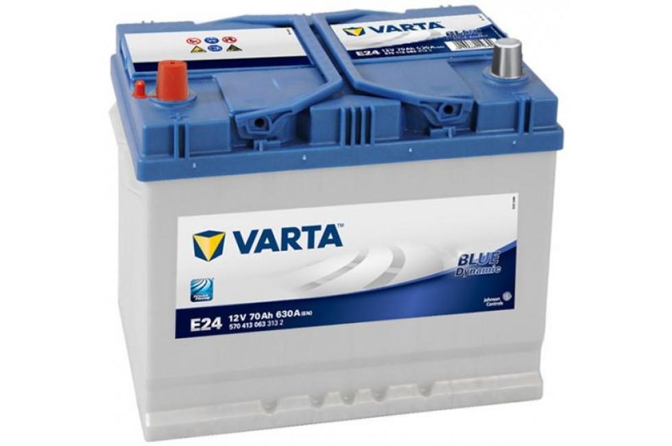 Аккумулятор Varta Blue Dyn (Asia) 70Ah L+ 630A