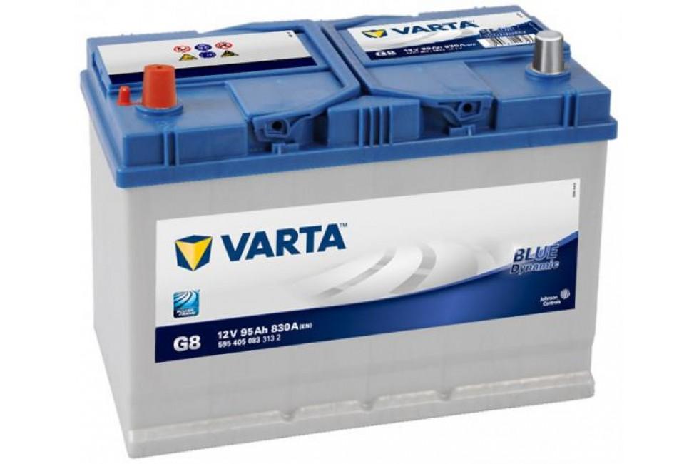 Аккумулятор Varta Blue Dyn (Asia) 95Ah L+ 830A