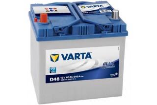 Аккумулятор Varta Blue Dyn (Asia) 60Ah L+540A