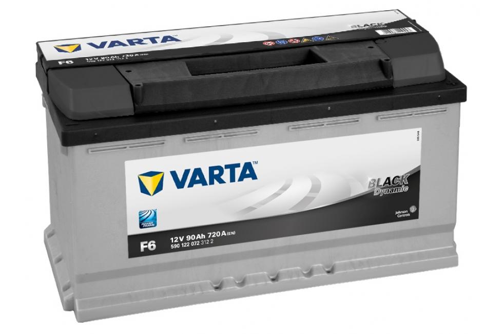 Аккумулятор Varta Black Dyn 590122 (90Ah) 720A