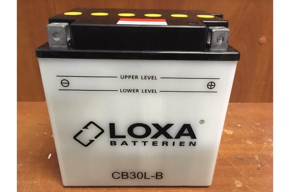 Аккумулятор Loxa YB30L-B