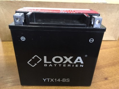 Аккумулятор Loxa YTX 14-BS