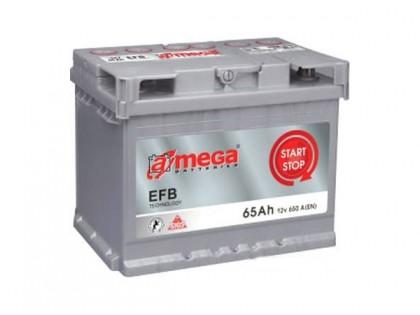 Аккумулятор A-mega EFB 65 R A/h 650A (EN)