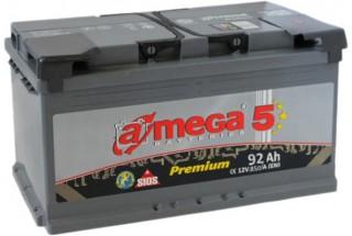 Аккумулятор A-mega 92 R+ 850 A (EN)