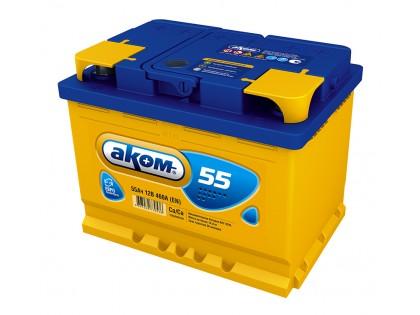 Аккумулятор Akom 55 a/h 460(EN)