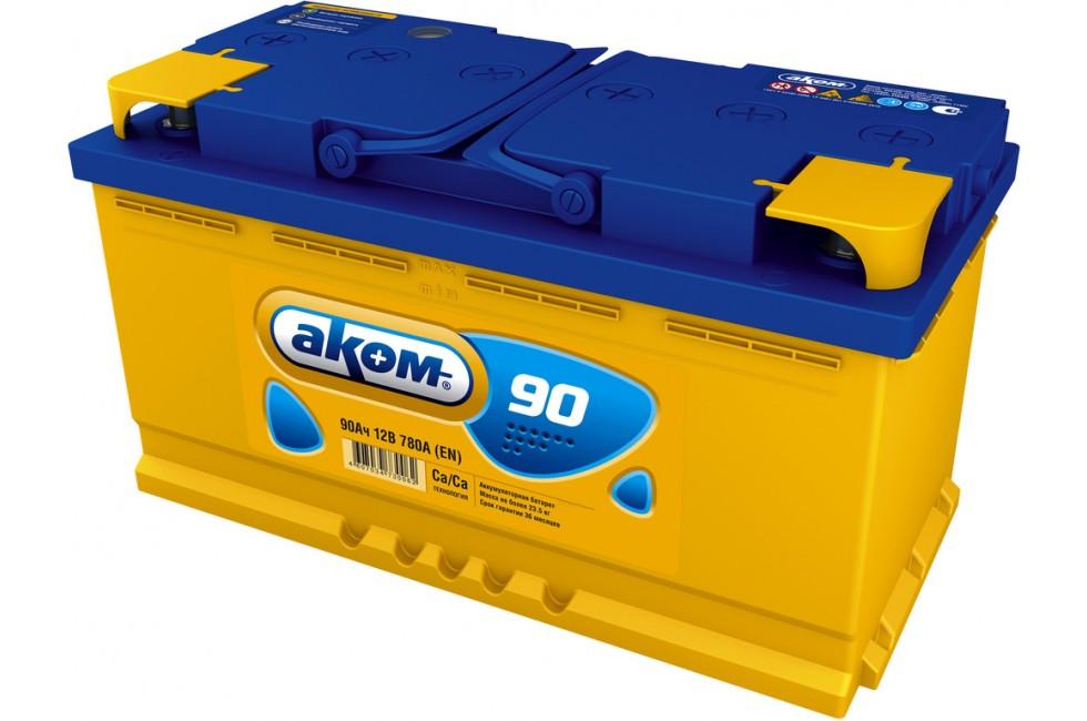 Аккумулятор Akom 90 a/h 780A (EN)
