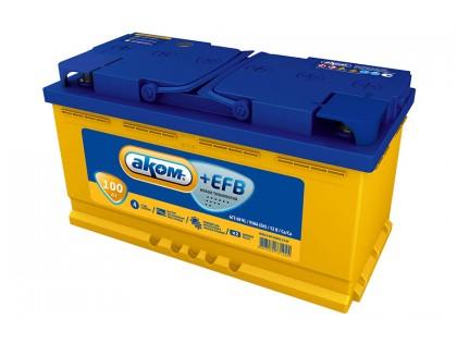 Аккумулятор АКОМ EFB 6СТ-100 Евро 950 A(EN)