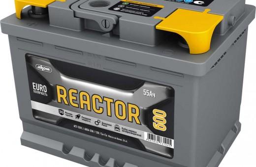 Аккумулятор Reactor 55 a/h 600A (EN)