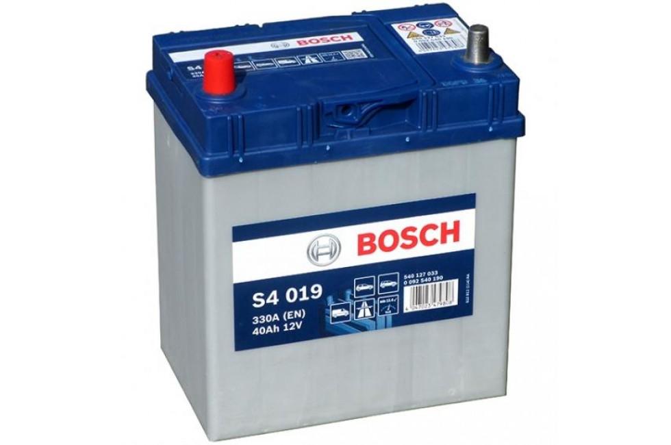Аккумулятор Bosch S4 40 a/h 180 330А L+