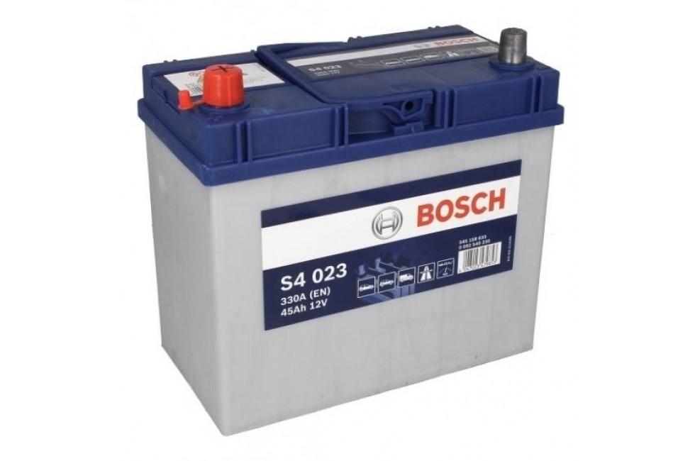 Аккумулятор Bosch S4 545 158з 330A L+ рус