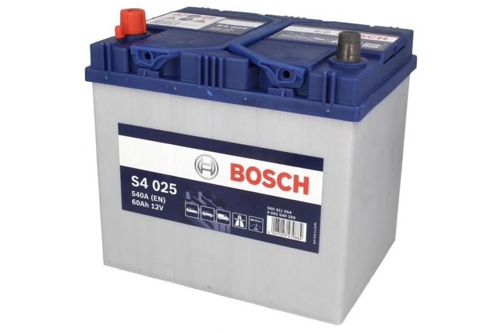 Аккумулятор Bosch S4 560 411з 540A рус