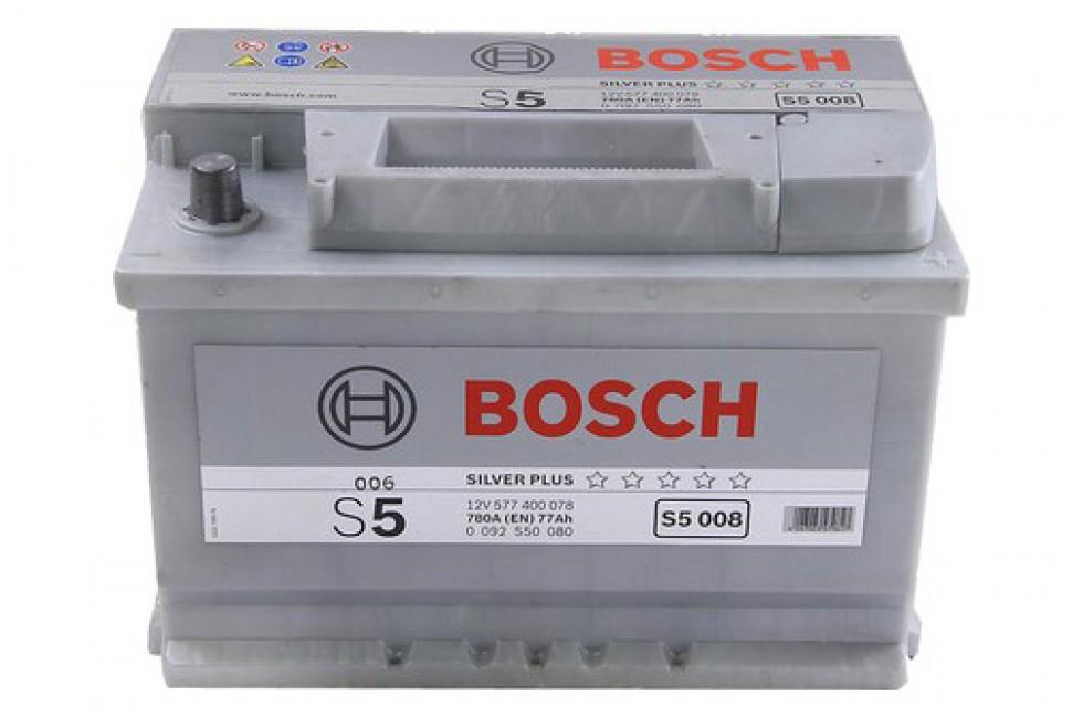 Аккумулятор Bosch S5 577 400з 780A