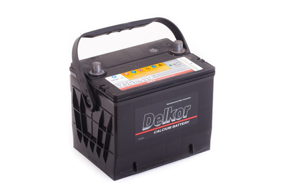 Аккумулятор Delkor (75-650) 75 A/h 650A e/n