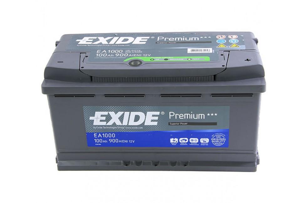 Аккумулятор Exide Premium 100 a/h R 900A (EN)