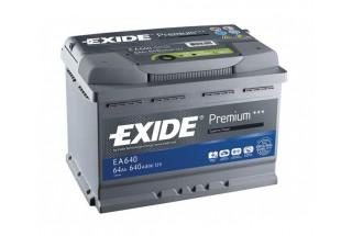 Аккумулятор Exide Premium 64 a/h R 640A (EN)