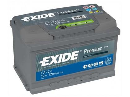 Аккумулятор Exide Premium 72 a/h R 720A (EN)