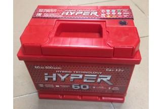 Аккумулятор Hyper 60 a/h 600A