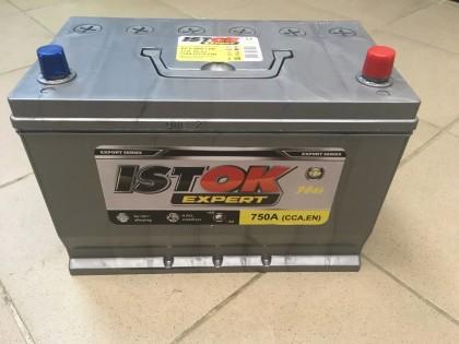 Аккумулятор ИСТОК 90 a/h 750A Asia