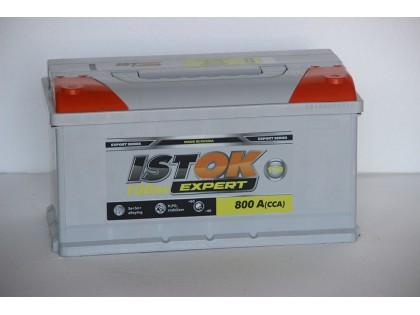 Аккумулятор ИСТОК 100 a/h 800A