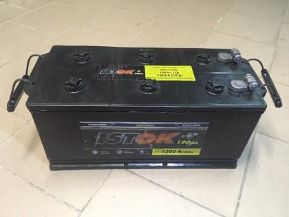 Аккумулятор Исток 190 a/h 1200 e/n под болт