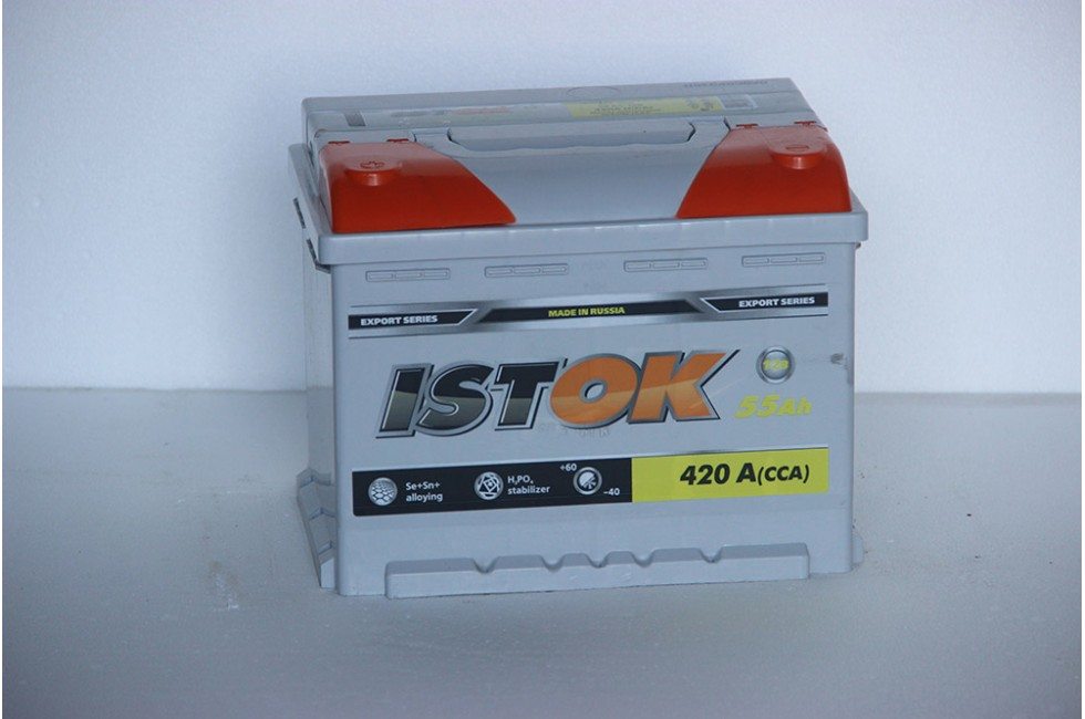 Аккумулятор ИСТОК 55 a/h 420A L-R