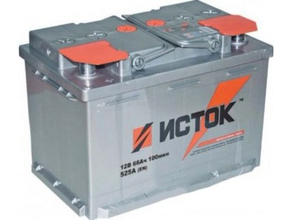 Аккумулятор ИСТОК 66 a/h  L  R+