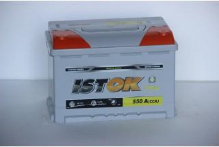 Аккумулятор ИСТОК 77 a/h 550A L-R