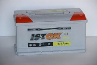 Аккумулятор ИСТОК 90 a/h евро 670A