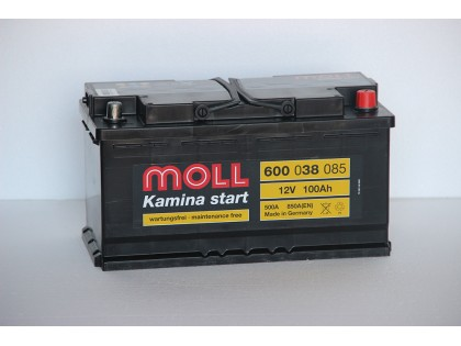 Аккумулятор Moll 100 A/ч 850A (EN)