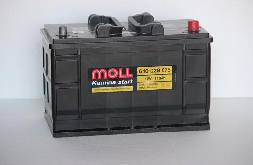 Аккумулятор Moll 110 a/h 750A (EN)