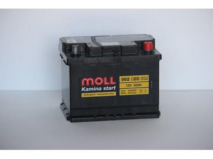 Аккумулятор Moll 62 A/ч R 520A (EN)
