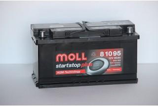 Аккумулятор Moll AGM 95 A/h 850A (EN)