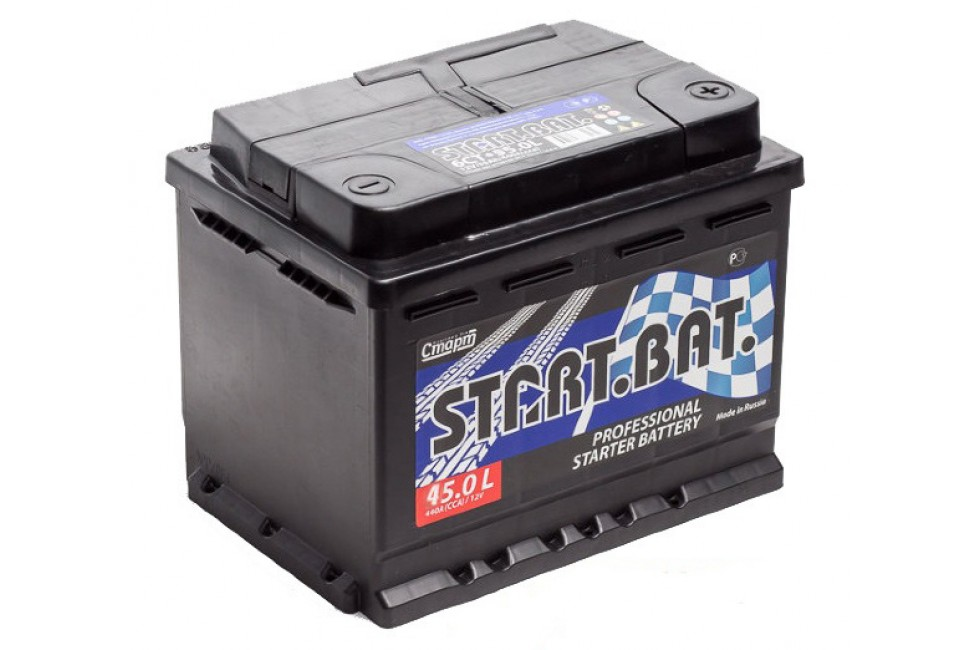 Аккумулятор Start.Bat 45 A/h R+ 390A (EN)