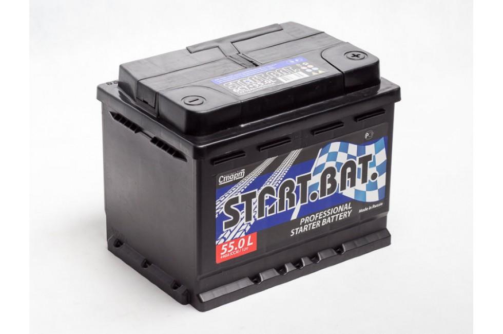 Аккумулятор Start.Bat 55 A/h R+L+ 410A (EN)