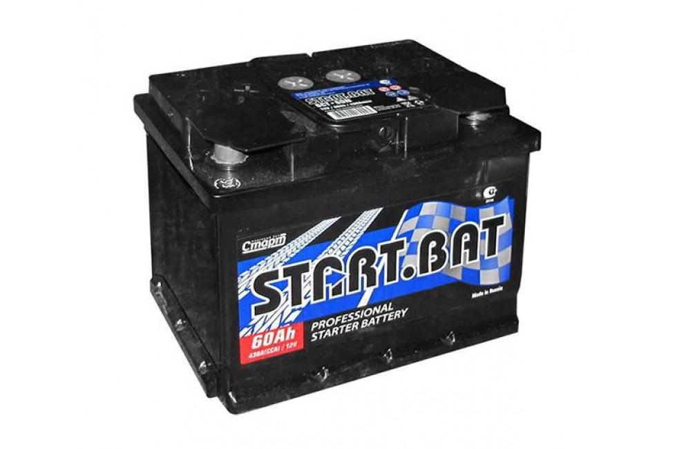 Аккумулятор Start.Bat 60 A/h R+L+ 430A (EN)