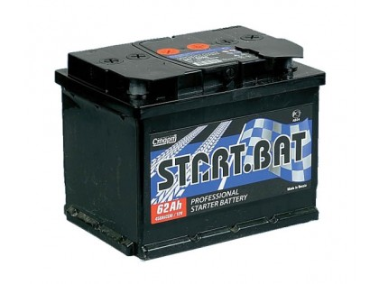Аккумулятор Start.Bat 62 A/h R+ 450A (EN)