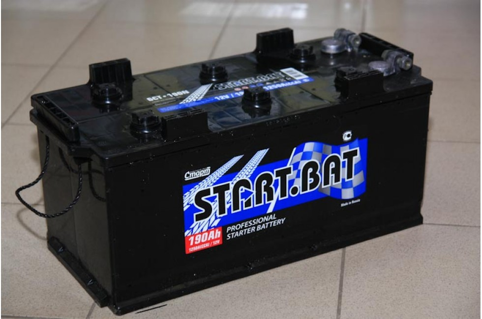 Аккумулятор Start.bat 190 A/h 1150A (EN) (шир.+пер.)