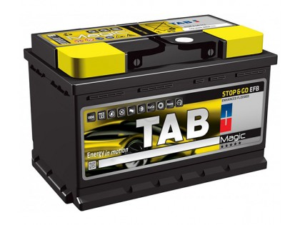Аккумулятор TAB Magic STOP & GO EFB 80 A/h 760А R+