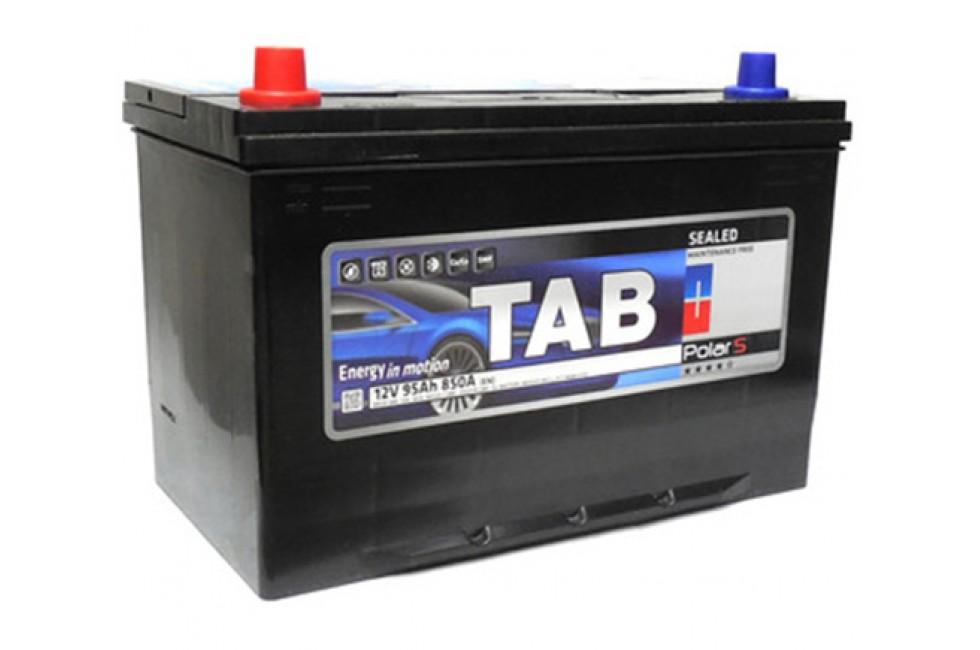 Аккумулятор Tab PolarS 95 A/h Азия R+ L+