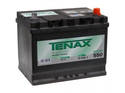 Аккумулятор Tenax 60 a/h azia 510А (EN)