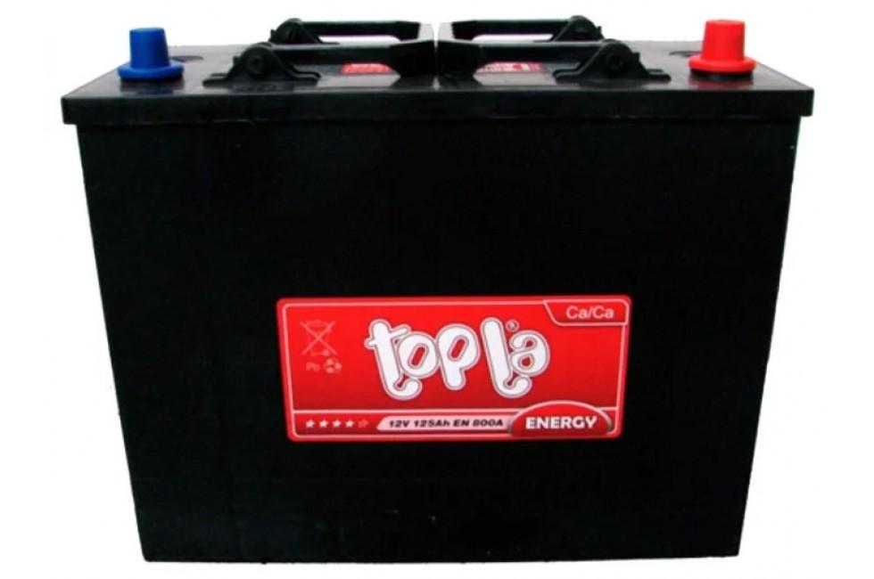 Аккумулятор Topla Energy Truck 125 A/h 800A R+