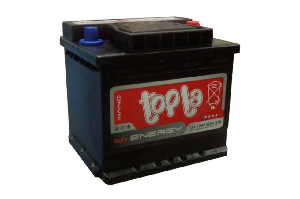 Аккумулятор Topla Energy UNI 60 A/h 560A R+