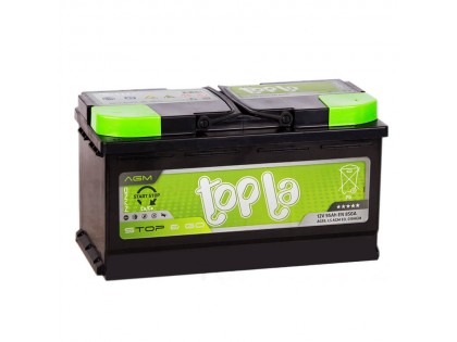Аккумулятор Topla TOP AGM Stop / Go 95 A/h 850A