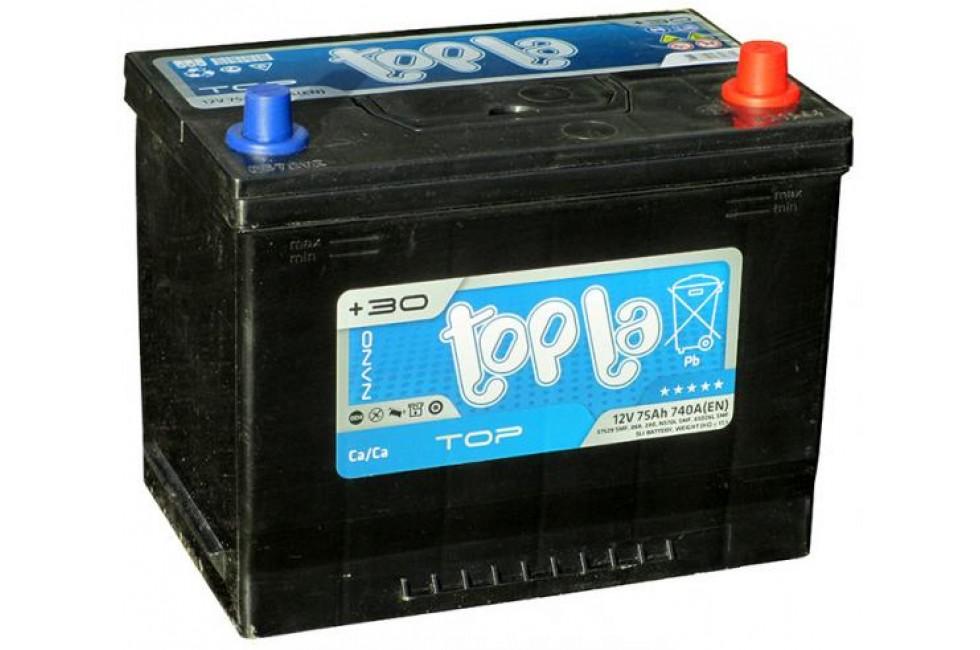 Аккумулятор Topla 75 Ah 740A (EN) R+