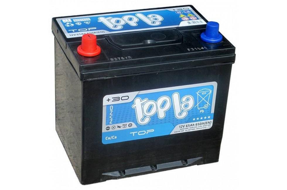 Аккумулятор Topla 65 Ah 650A (EN) L+