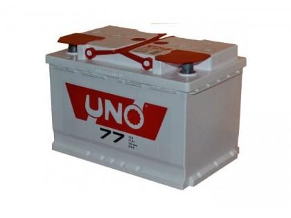 Аккумулятор UNO 6CТ-77 (77 А/ч) 550 A