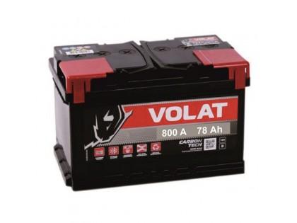 Аккумулятор VOLAT Ultra 78 А/ч 800А